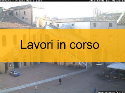 Webcam Ferrara - Piazza Municipale